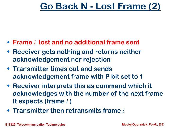 Go Back N - Lost Frame (2)