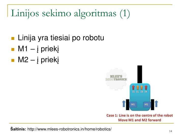 Linijos sekimo algoritmas (1)