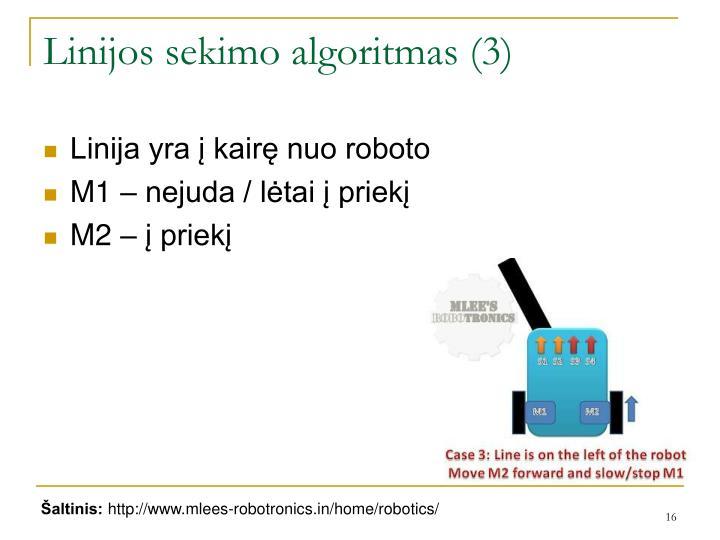 Linijos sekimo algoritmas (3)