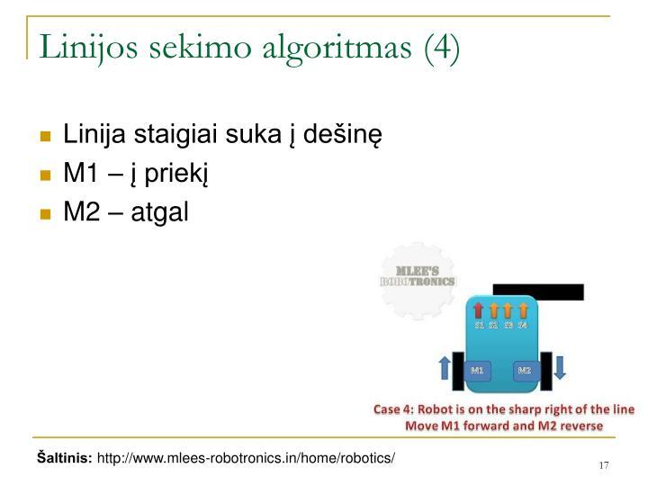 Linijos sekimo algoritmas (4)
