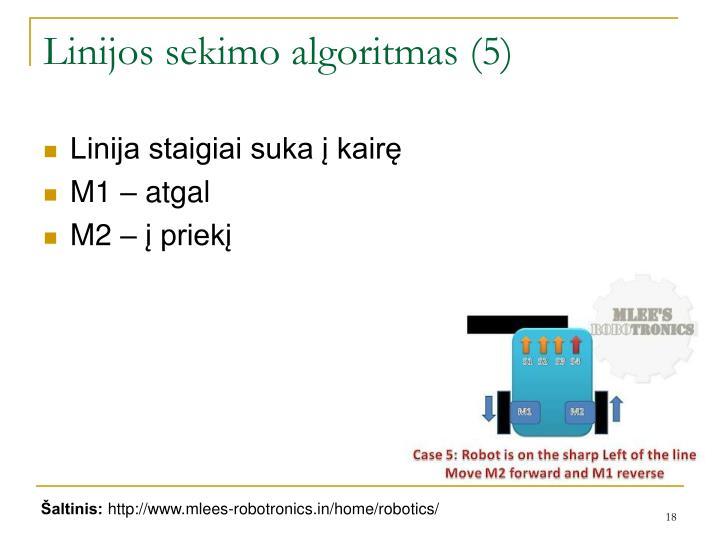 Linijos sekimo algoritmas (5)