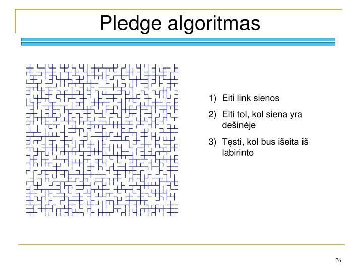 Pledge algoritmas