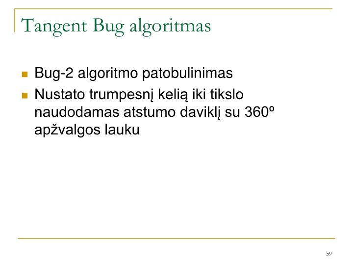 Tangent Bug algoritmas