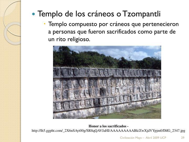 Templo de los cráneos o