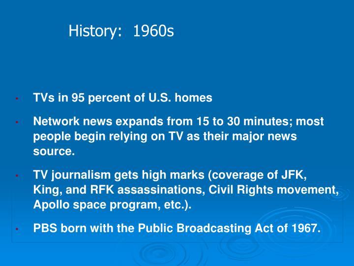History:  1960s