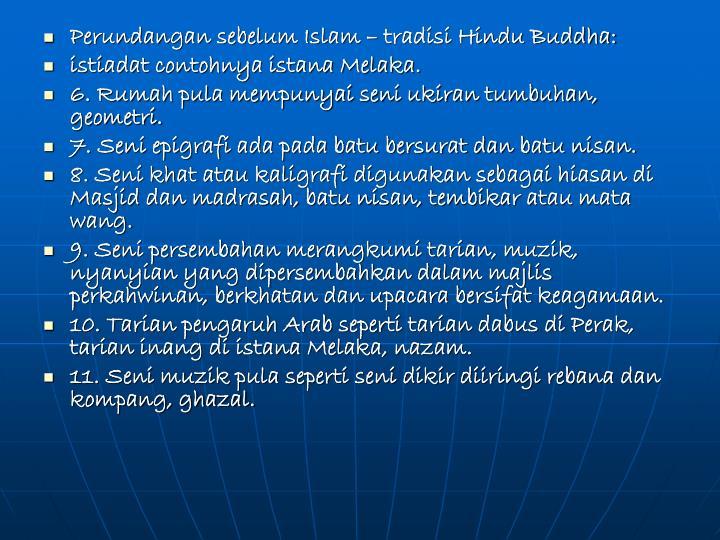 Perundangan sebelum Islam – tradisi Hindu Buddha: