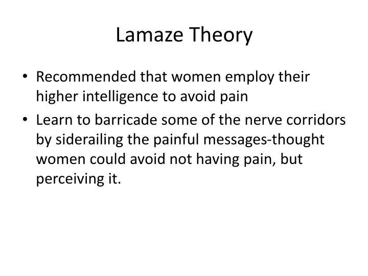 Lamaze Theory