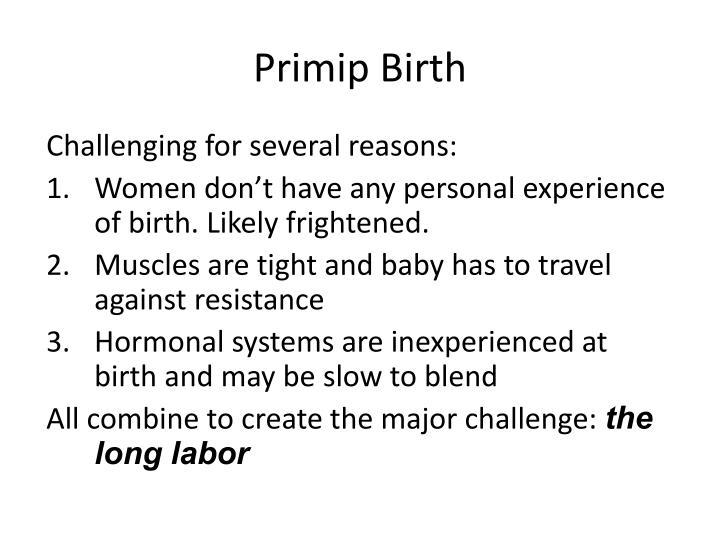 Primip Birth
