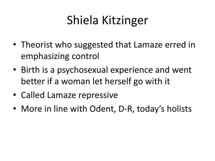 Shiela Kitzinger