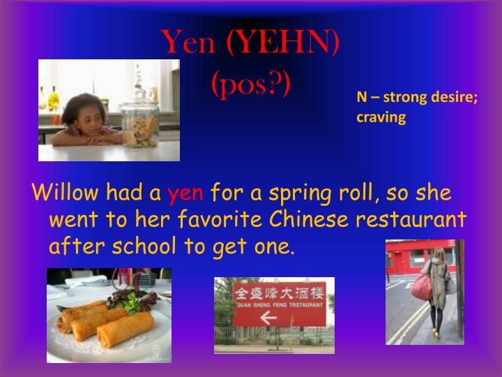 Yen (YEHN)