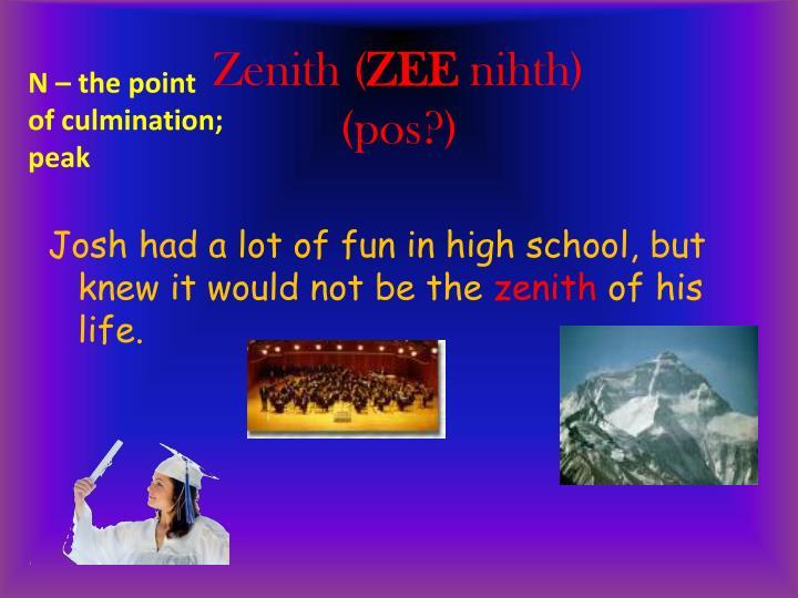 Zenith (