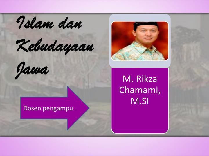 Islam dan Kebudayaan Jawa