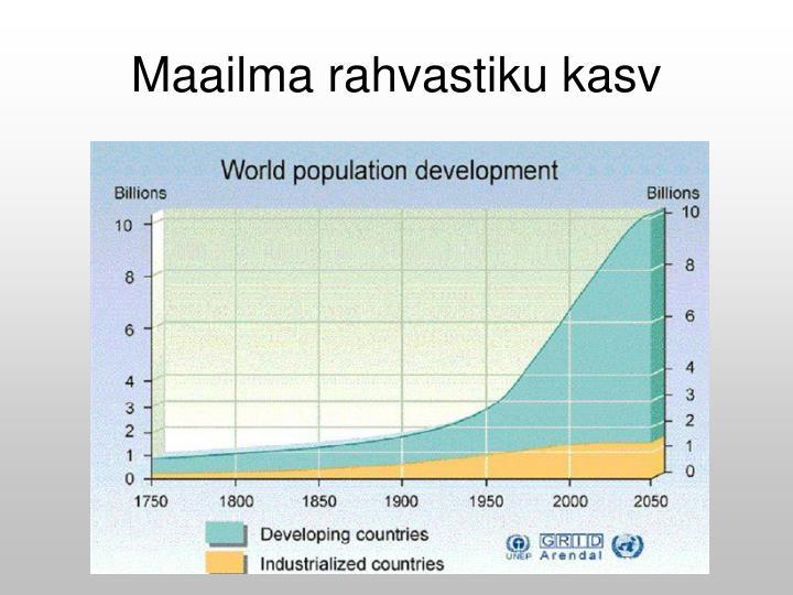 Maailma rahvastiku kasv