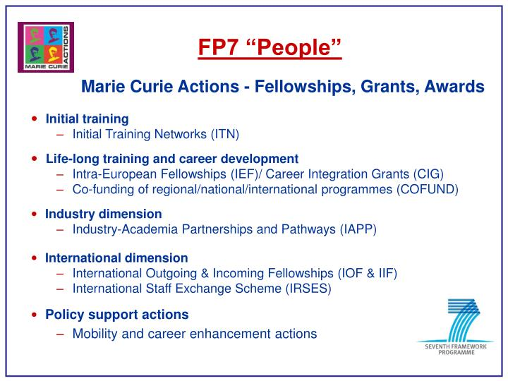 "FP7 ""People"""