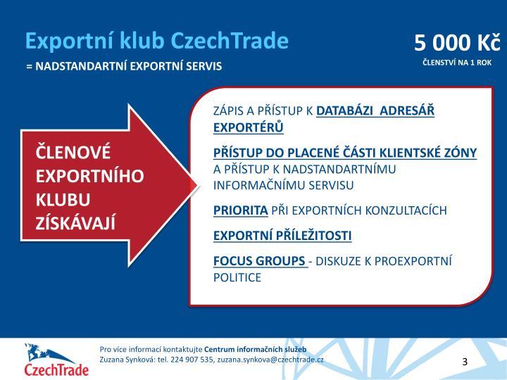 Exportní klub CzechTrade
