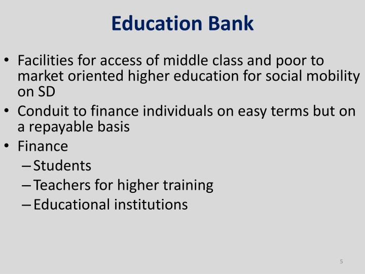 Education Bank