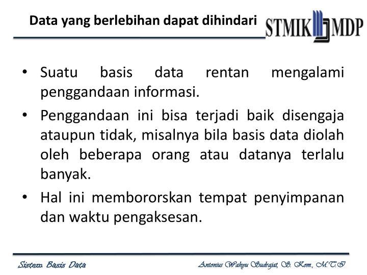 Data yang