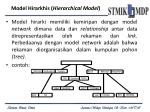 model hirarkhis hierarchical model