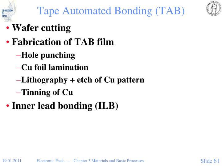 Tape Automated Bonding (TAB)