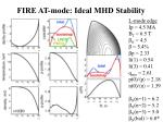 fire at mode ideal mhd stability2