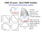 fire h mode ideal mhd stability1