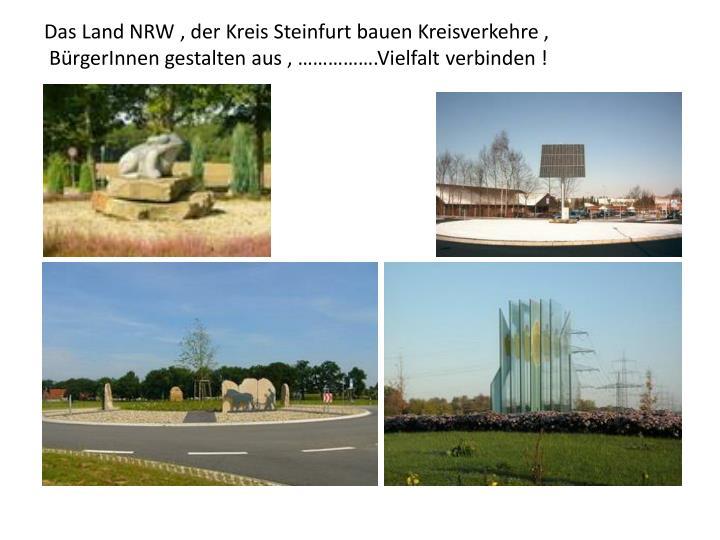 Das Land NRW , der