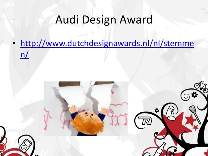 Audi Design Award