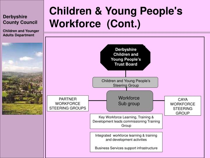 Children & Young People's Workforce  (Cont.)