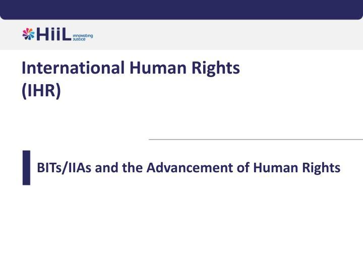 International Human Rights
