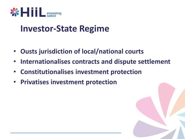 Investor-State Regime