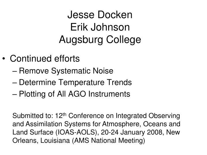 Jesse Docken