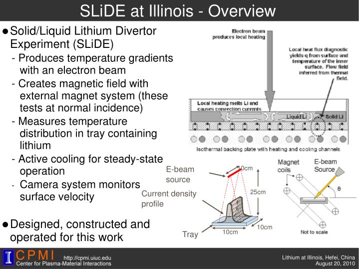 SLiDE at Illinois - Overview