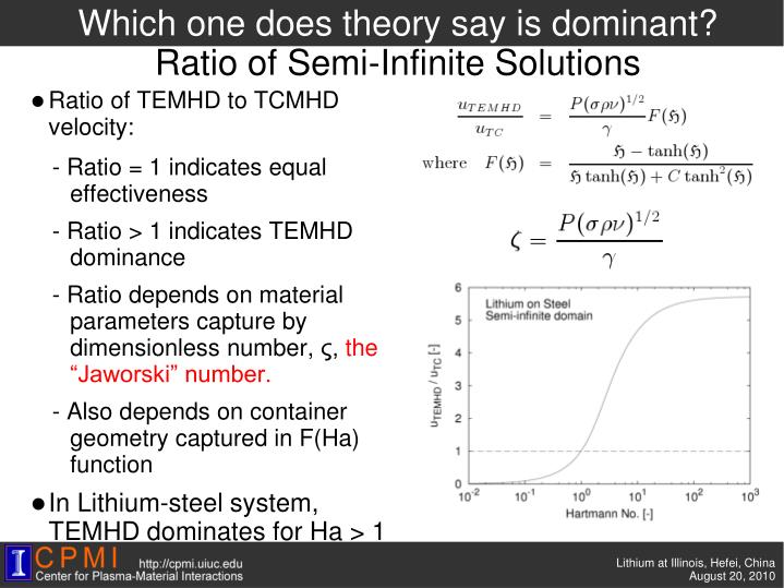 Which one does theory say is dominant?