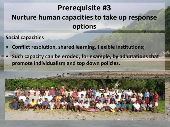 Prerequisite #3