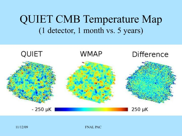 QUIET CMB Temperature Map