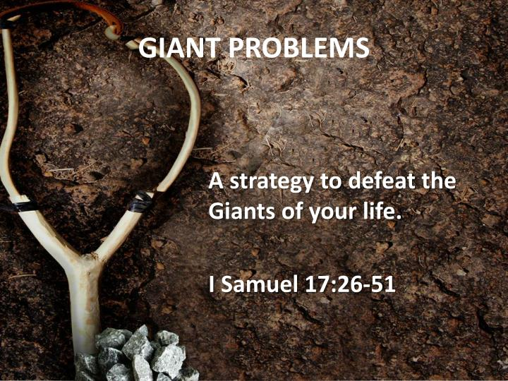 GIANT PROBLEMS