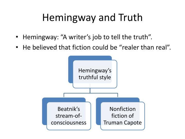 Hemingway and Truth
