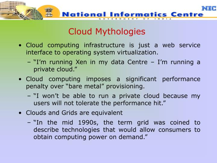 Cloud Mythologies