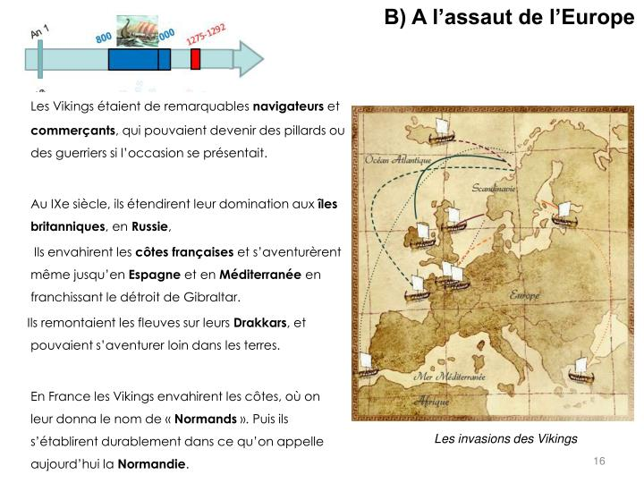 B) A l'assaut de l'Europe