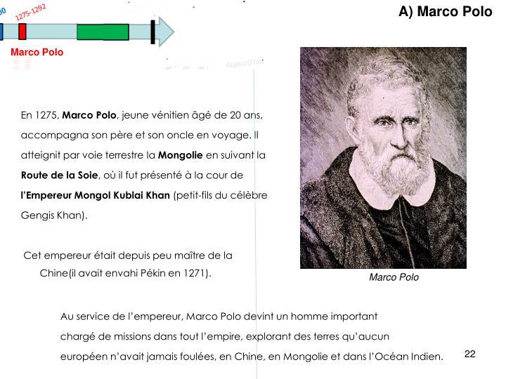 A) Marco Polo