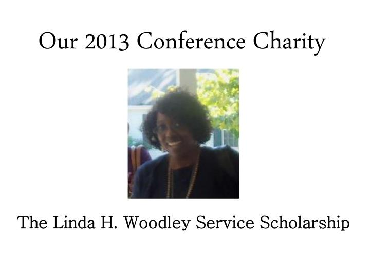 Our 2013 Conference Charity