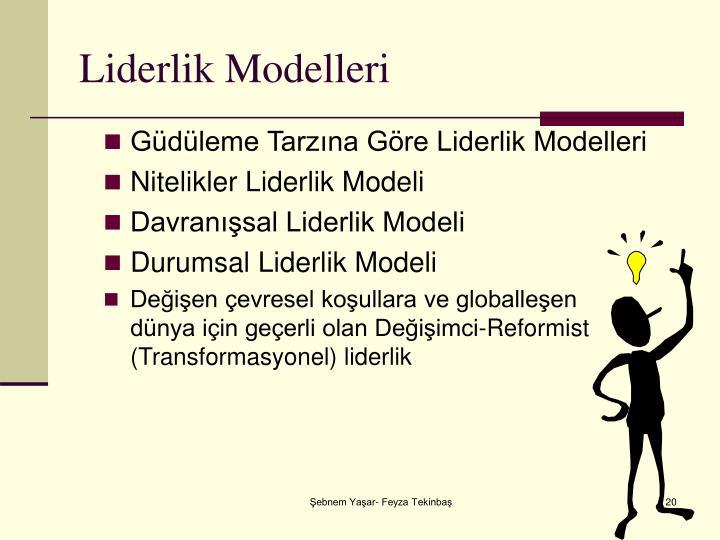 Liderlik Modelleri