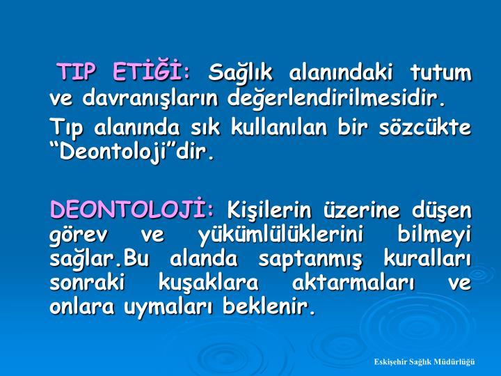 TIP ET: