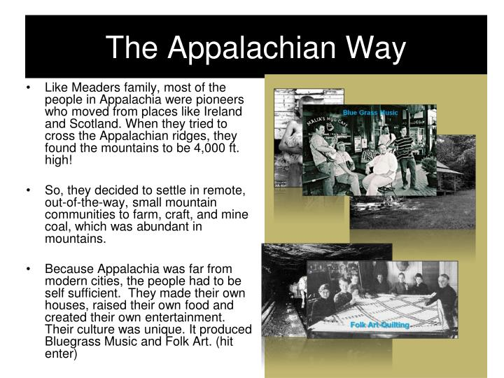 The Appalachian Way