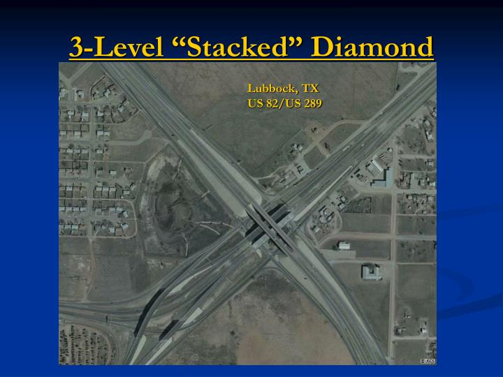 "3-Level ""Stacked"" Diamond"
