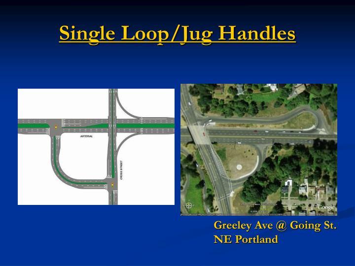 Single Loop/Jug Handles