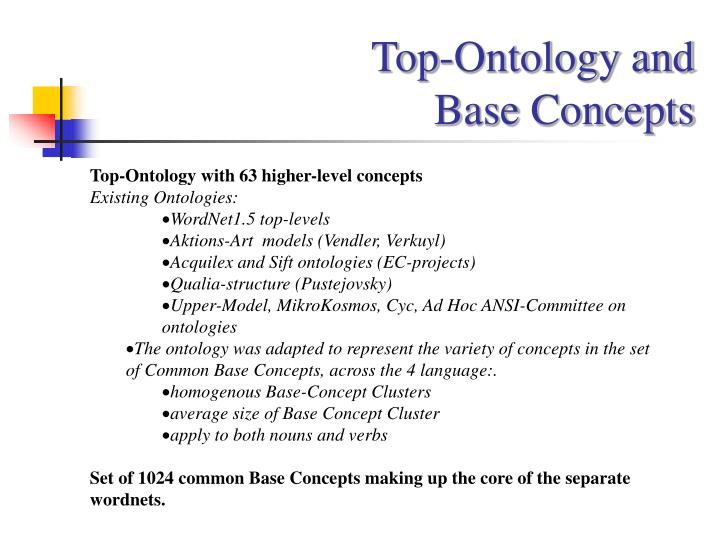 Top-Ontology and