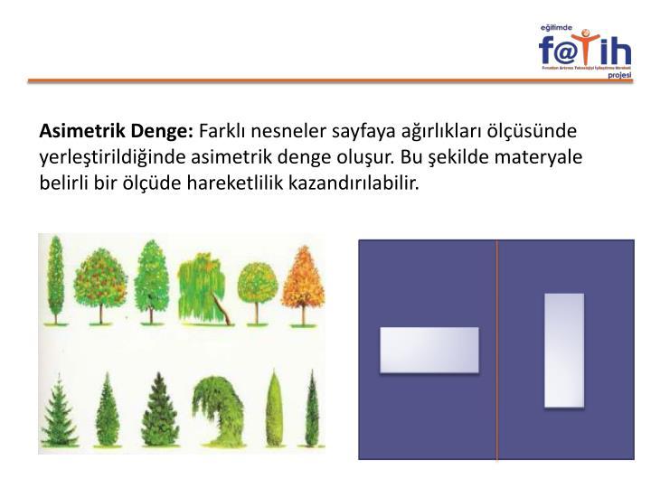 Asimetrik Denge: