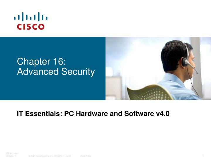 Chapter 16: Advanced Security