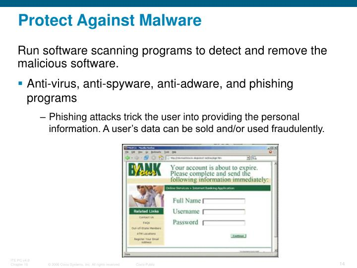 Protect Against Malware